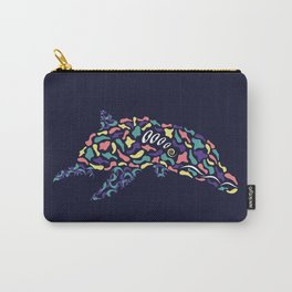 Abstract Dolphin Carry-All Pouch