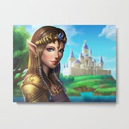 Princess Zelda pinup Metal Print