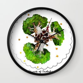 The Little Prince: Beware of Baobabs Wall Clock