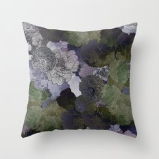 FLORAL FORREST Throw Pillow