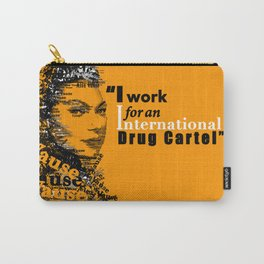 Alex Vause (Laura Prepon)-typography OITNB Carry-All Pouch