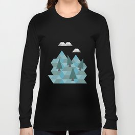 Low poly land Long Sleeve T-shirt