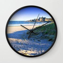 The Towers - Narragansett Town Beach, Rhode Island Wall Clock