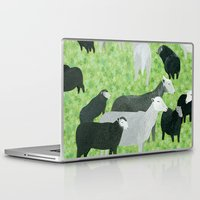 sheep Laptop & iPad Skins featuring Sheep by Yuliya