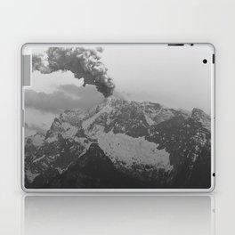 Volcano black and white Laptop & iPad Skin