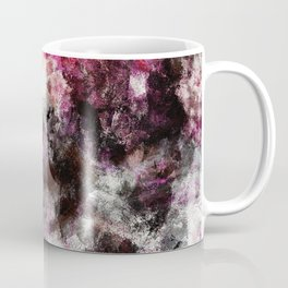 Modern Abstract Painting in Purple and Pink Tones Coffee Mug
