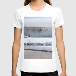winter on the water. T-shirt