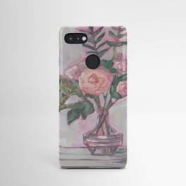 Pops of Hot Pink Florals Android Case