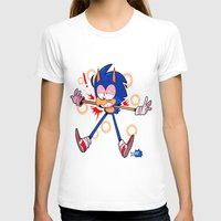 sonic T-shirts featuring sonic by Kai L.