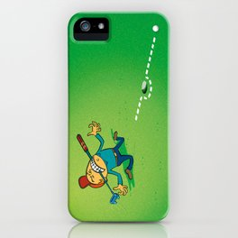 Golf is a sport for both relaxation and precision iPhone Case