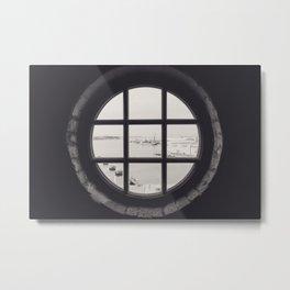 Ohlerich Speicher Fenster Metal Print