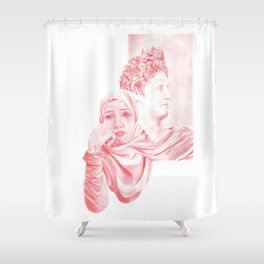 Foundations for cathedrals Shower Curtain