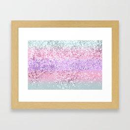 Unicorn Girls Glitter #8 #shiny #pastel #decor #art #society6 Gerahmter Kunstdruck