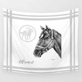 Affirmed (US) Thoroughbred Stallion Wall Tapestry