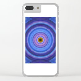 Life Light - Abstract Art By Sharon Cummings Clear iPhone Case