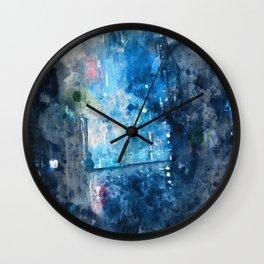 The City Way Wall Clock