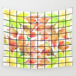 abstract floral background Wall Tapestry