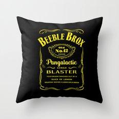 Pan Galactic Gargle Blaster Throw Pillow
