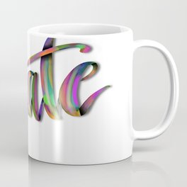 Hand Drawn Typography Lettering Phrase Create Coffee Mug