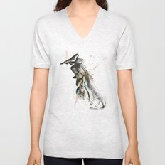 Drift Contemporary Dance Two Unisex V-Neck