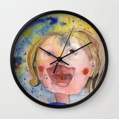I feel happy Wall Clock