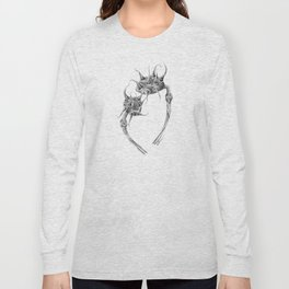 Spiked Nebula Pods (part of the Strange Plants series) Long Sleeve T-shirt