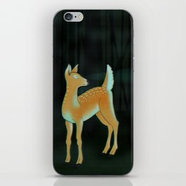 forest fawn iPhone Skin