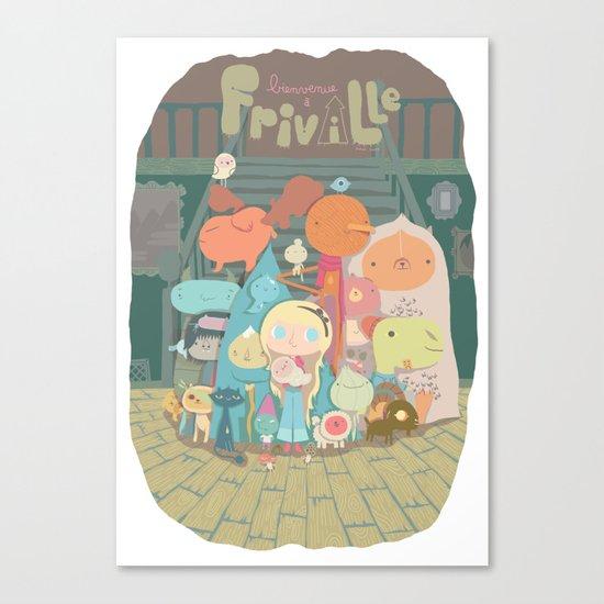 frimin Canvas Print