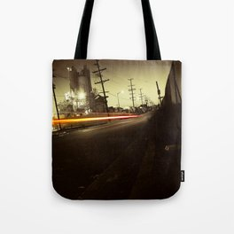 Night ride Tote Bag