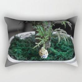 Shiba Inu Jungle Rectangular Pillow