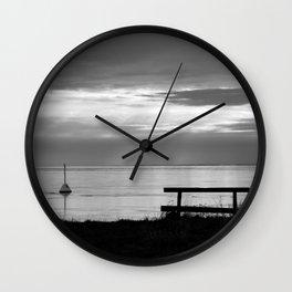 Lagoon Wall Clock