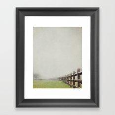 Far to go Framed Art Print