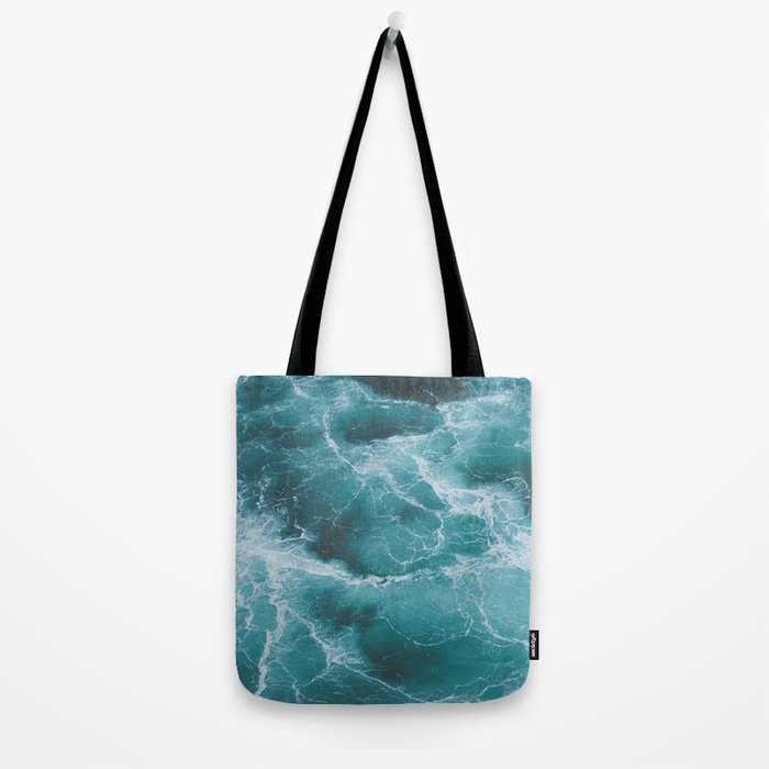 Electric Ocean Tote Bag
