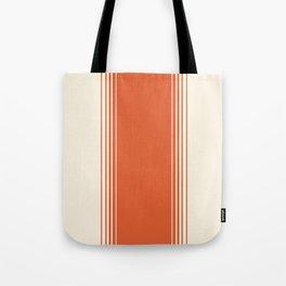 Marmalade & Crème Vertical Gradient Tote Bag