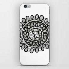 Doily #1 iPhone & iPod Skin