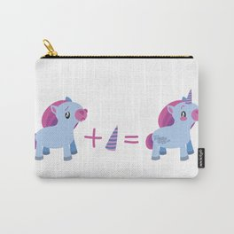 Pony + Horn = Unicorn Carry-All Pouch