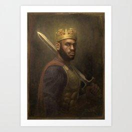 King James Art Print