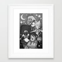 sailormoon Framed Art Prints featuring SU SailorMoon by Ravenno