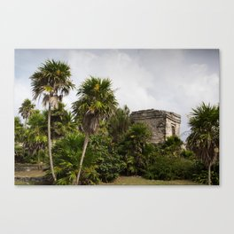 Never ruined in Tulum Canvas Print