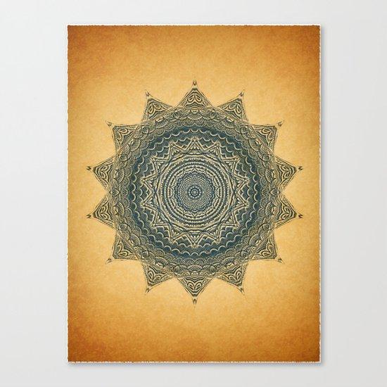Sun Symbol Canvas Print