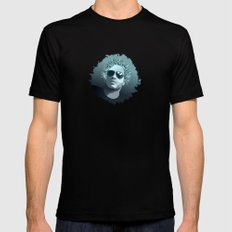 Tribute to Lenny Kravitz Black MEDIUM Mens Fitted Tee