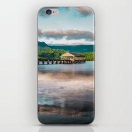 Hanalei Pier Kauai Hawaii  iPhone Skin