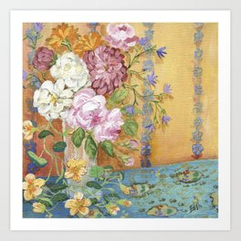 Bohemian Bouquet Art Print