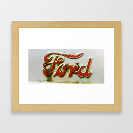 Ford Framed Art Print