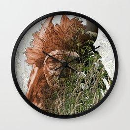 Bull Chief-Crow (Apsaroke) Wall Clock