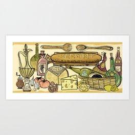 The Joy Of Cooking Art Print