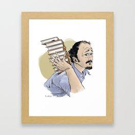 Jeffrey Eugenides (novelist) Framed Art Print