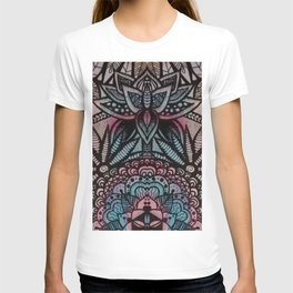 Lottus flowers and mandalas T-shirt