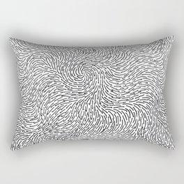 Turbulence 4 Rectangular Pillow