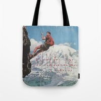 motivation Tote Bags featuring MOTIVATION by Josh LaFayette